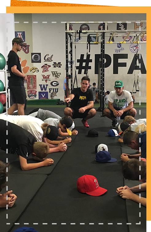 PFA Summer Baseball Camp